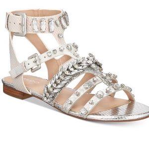 aldo brari embellished gladiator sandals size 7